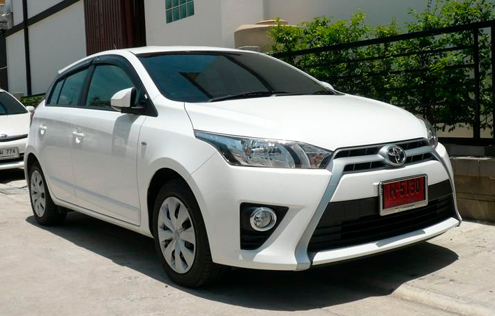 Rent Car Toyota Yaris Samui